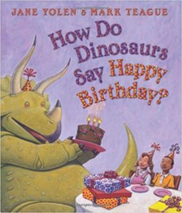 Cute Dinosaur Book For Kids