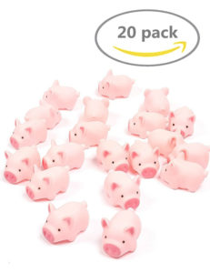 rubber pig toys