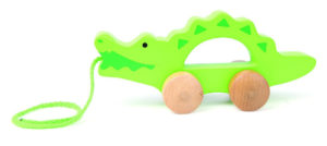 Crocodile Pull-Push Toy For Kids