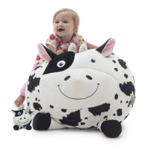 bean bag cow toy