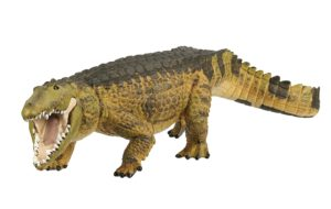 Realistic Crocodile Figurine Toy