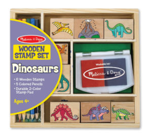 Dinosaur Wooden Toy Set