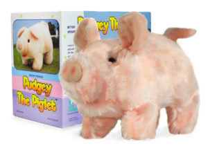 cuddly pig toy