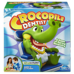 Crocodile Toy Dentist Game