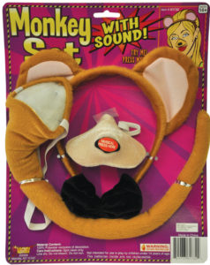 monkey ears costume
