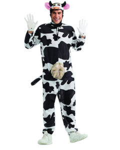 cow costume for adults