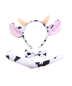 cow costume headband