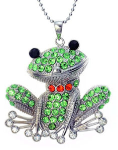 smiling frog pendant jewelry