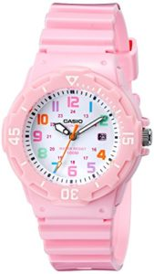 pink casio watch
