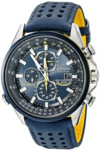 citizen eco drive blue watch