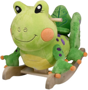 cute frog rocker toy