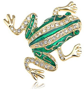 frog brooch jewelry
