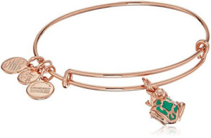 rose gold frog charm bracelet jewelry