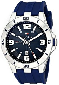 blue tommy hilfiger watch