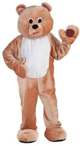 honey bear mascot outfit
