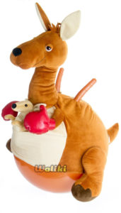 kangaroo sit and bounce ball toy