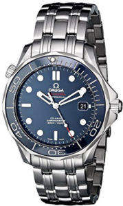 omega blue watch