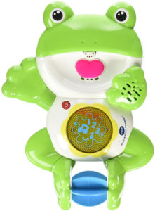 Vtech pour and float frog bath toy