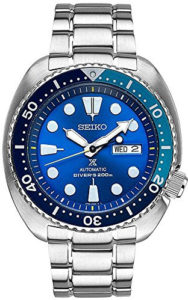 seiko blue lagoon watch