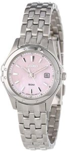 pink seiko watch