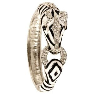 Zebra Bangle Jewelry