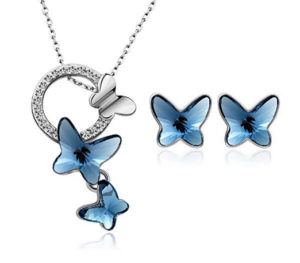 butterfly necklace pendant jewelry