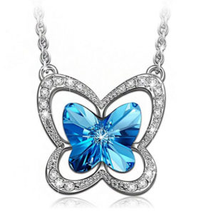 butterfly necklace jewelry