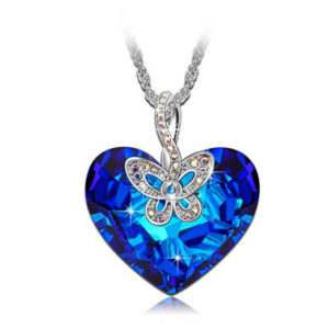 products blue starberrykoko butterfly jewel necklace grande