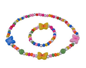 butterfly jewelry beads for kids