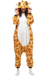 Belle House Adult Giraffe Onesie