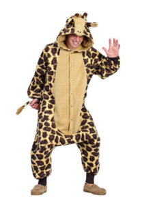 giraffe onesie costume outfit