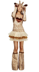 giraffe costume for women