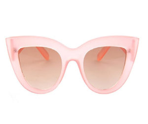 pink thick sunglasses for women