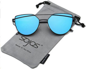 blue sunglasses for women