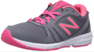 womens pink & gray trainers