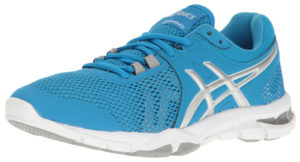 ASICS Blue womens running shoes