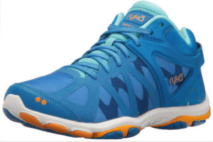 blue womens running trainers shoe
