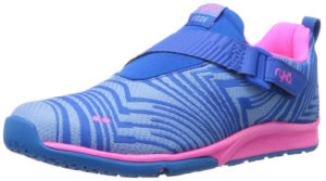 blue womens trainers for running