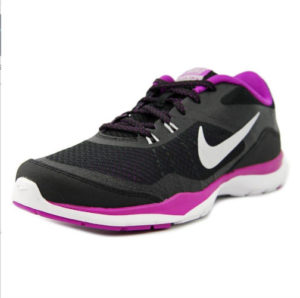 Nike purple womens running shoes