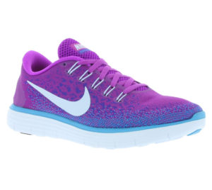 purple trainers for women