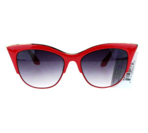womens red sunglasses