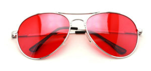 womens red aviator sunglasses