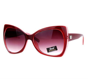 womens red sunglasses cat eye