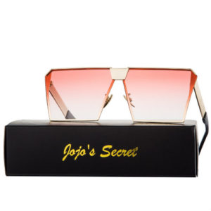 red sunglasses for women square jojo