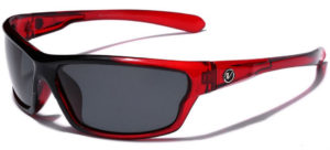 sporty red sunglasses for women