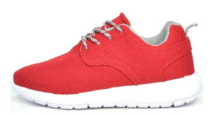 red womens trainers