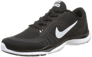 nike black womens trainers
