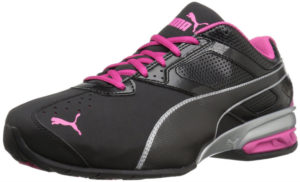 puma black trainers for women