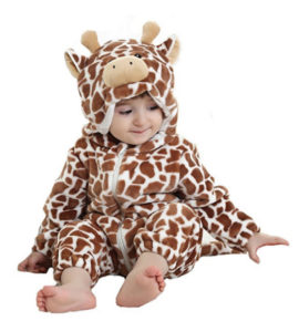 giraffe costume pajamas for babies