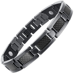 black titanium bracelet for men